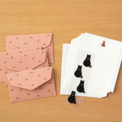 Mini Env/ Papier à lettre et stickers