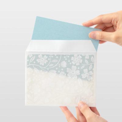 Set papiers et enveloppes en filigrane